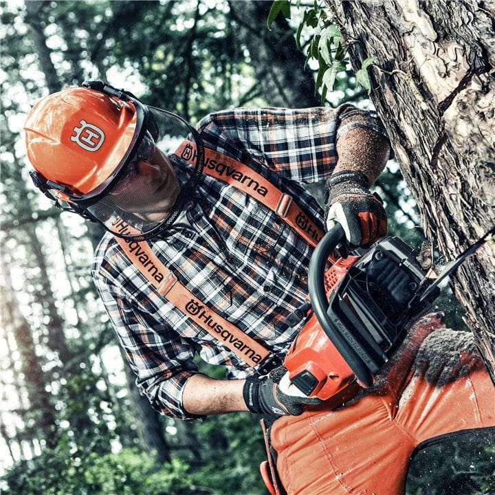 The X-Torq® function in Husqvarna Chainsaws makes them fuel efficient and produce fewer emissions