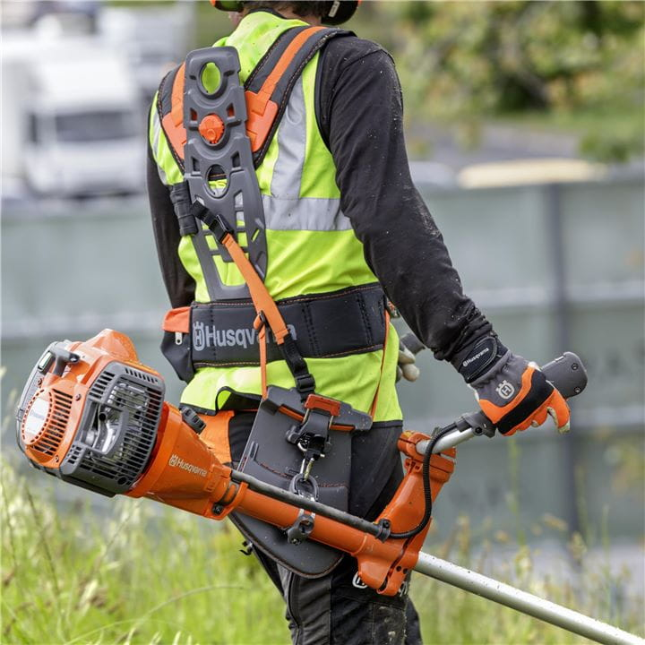 Ergonomic harnesses for the Husqvarna Forest Clearing Saw