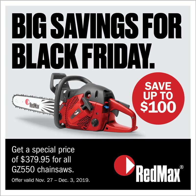 RedMax Black Friday Sale