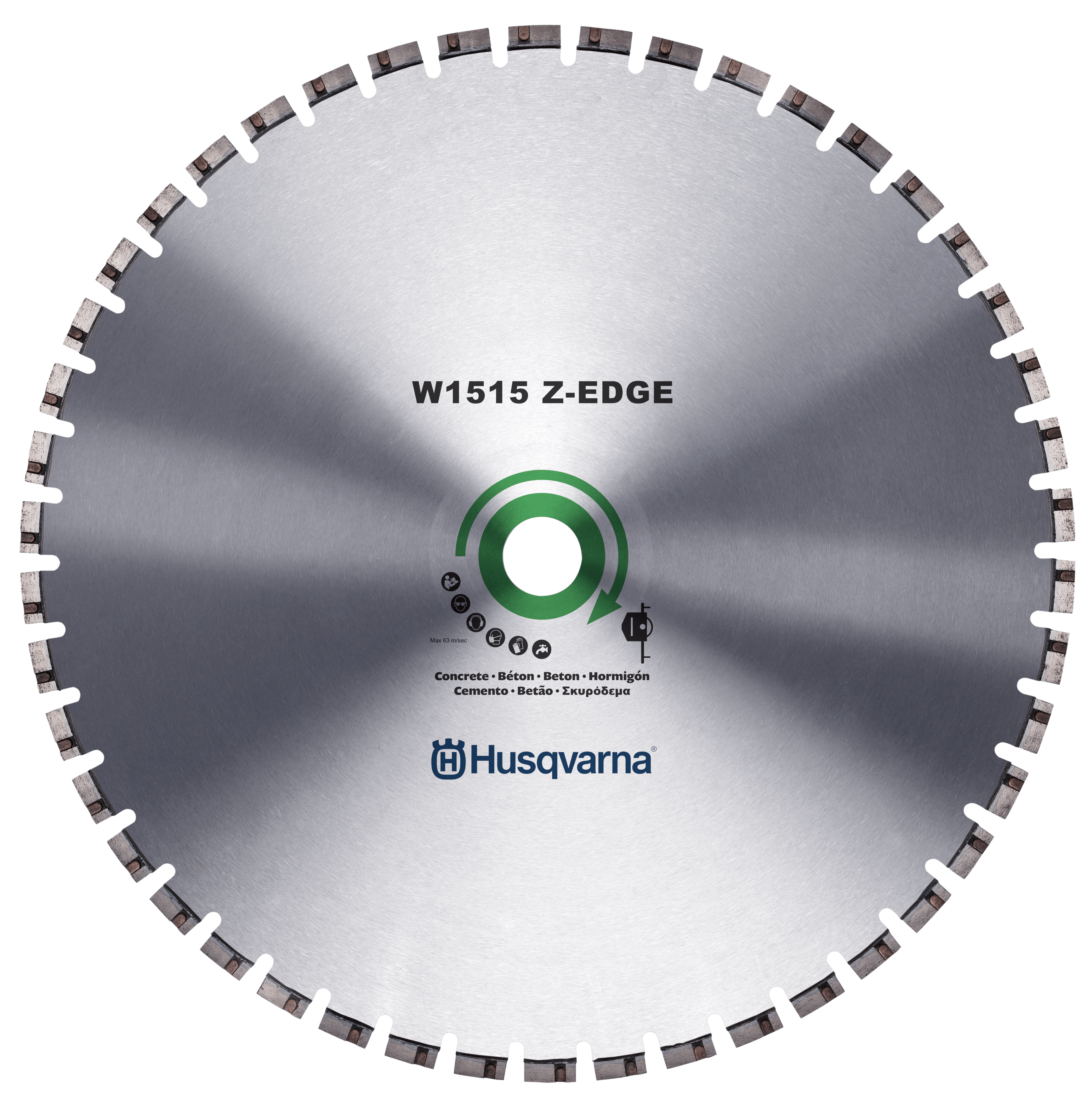 Z-EDGE W 1515 wall saw blade EMAL