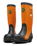 Protective boots for power cutting
