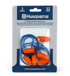 Husqvarna Foam Earplugs Corded Pair