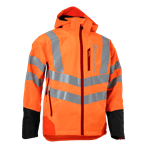 Rain Jacket Vent High-Viz, Technical