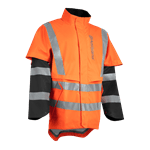 Rain Jacket Protect High-Viz, Functional