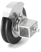 Offset pulley