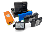 Automower battery collection