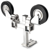 Offset pulley system