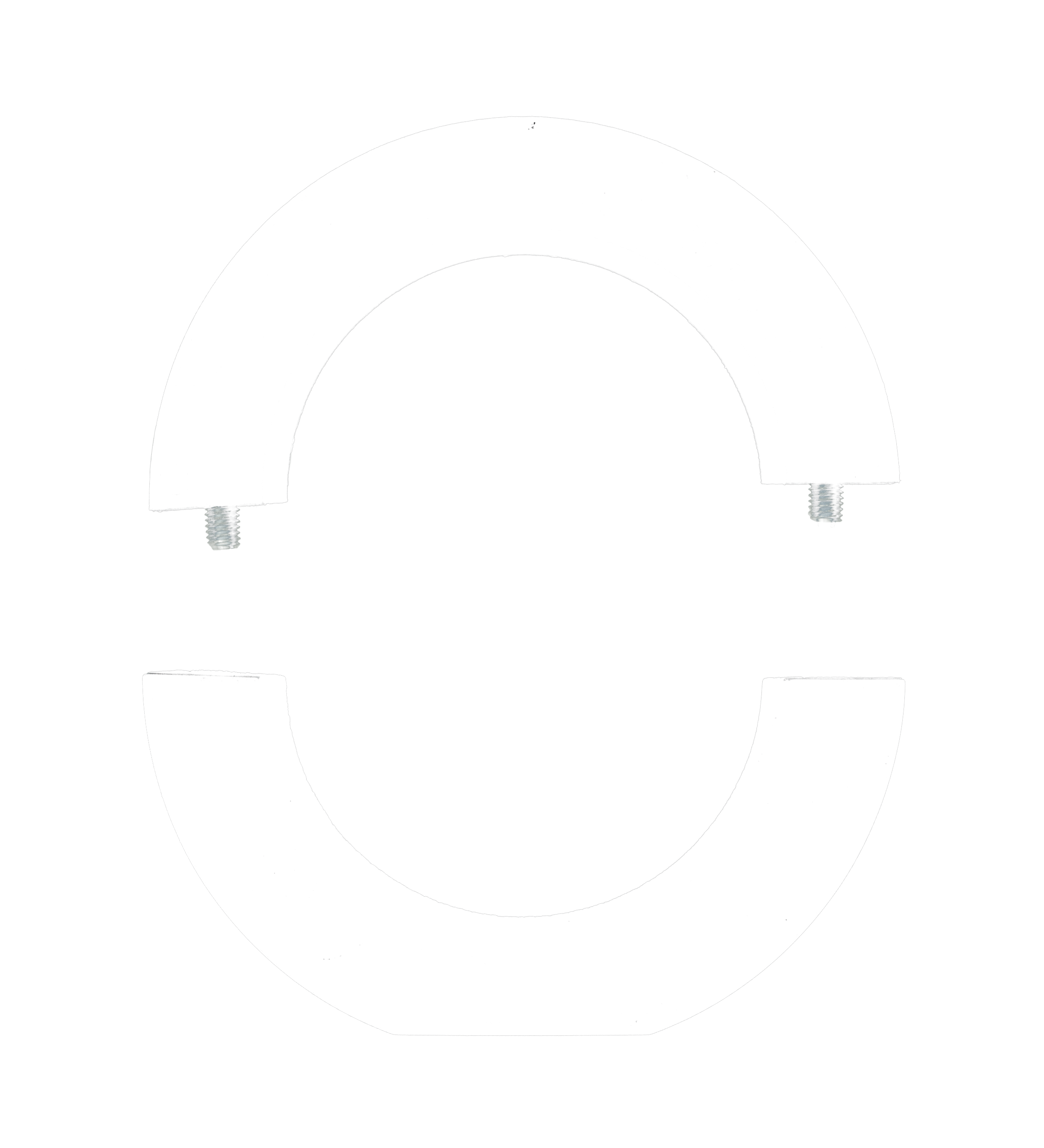 Dust hood adaptor ring