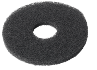 Black buffing pad, 280 mm