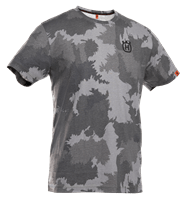 T-shirt short sleeve solid, Forest camo front