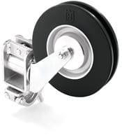 Swivel pulley slide