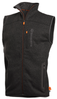 Fleece vest, men, front