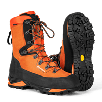 Chainsaw Leather Boots, Technical, Level 2