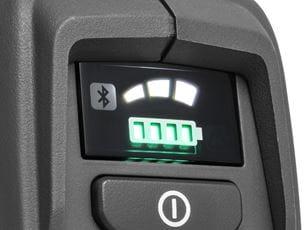 User interface - 535iFR, 535iRXT - 3-speed mode