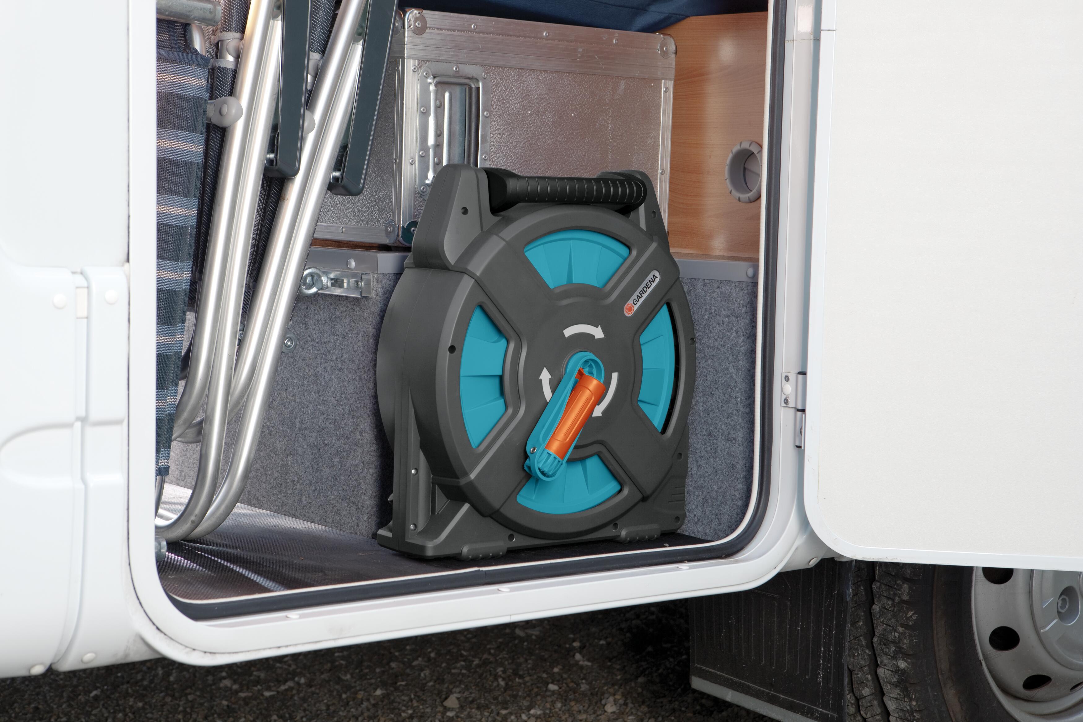 Gardena 2662-20 Classic Schlauchbox 15 Set 15 m Schlauchtrommel für unterwegs