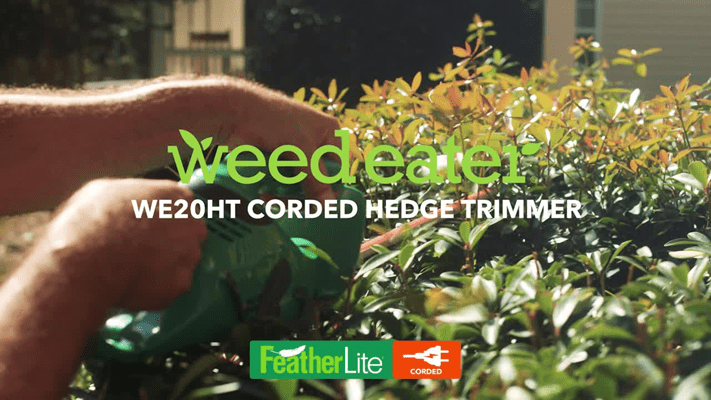 WE20HT Hedge Trimmer Video