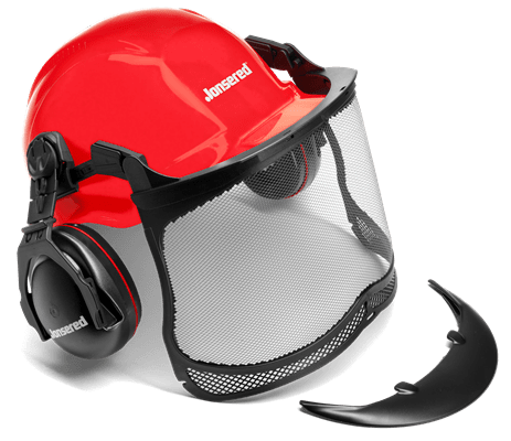 Protective helmet with Max Sight visor