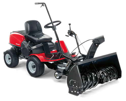 FA Frontrider with snow thrower
