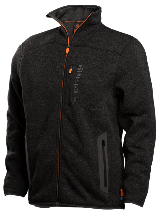 Fleece jacket, men front