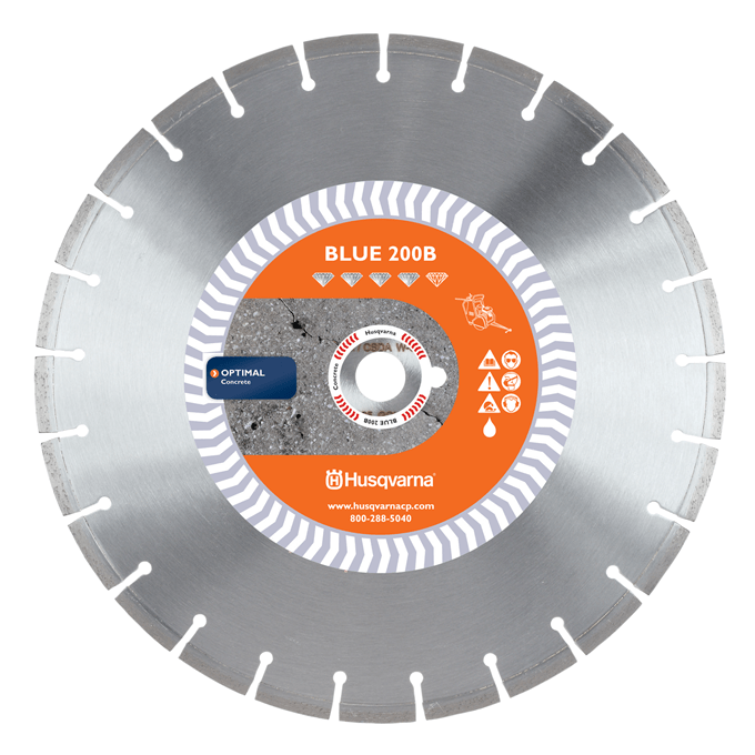 Banner Line Crack Saw Blue 200B