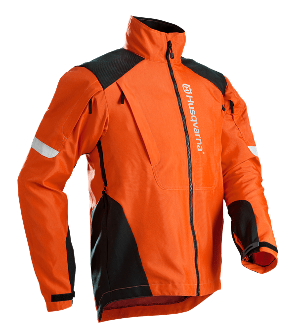 Jacket, Brushcutting- and trimmer
