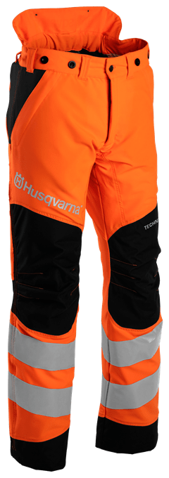 Protection trousers hi-viz front