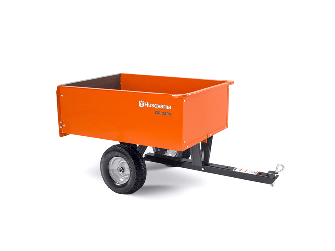 9 cu ft Steel Dump Cart