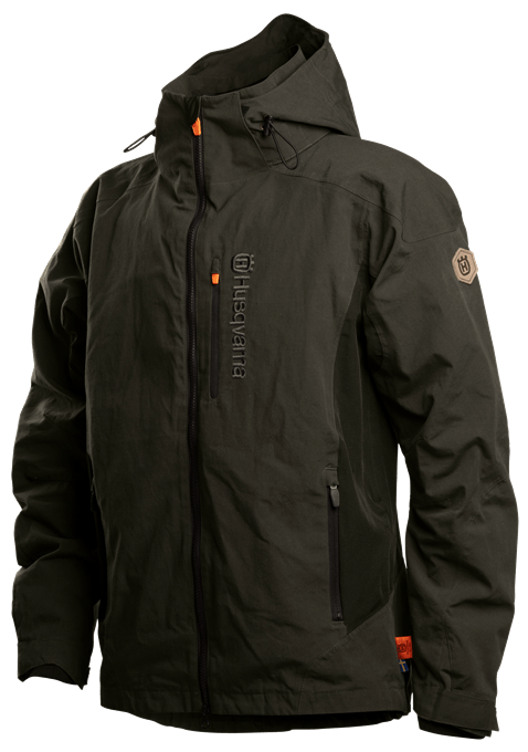 Shell jacket, men front
