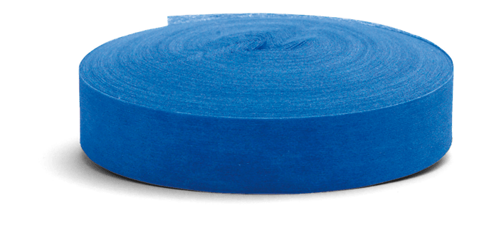 Marking tape blue