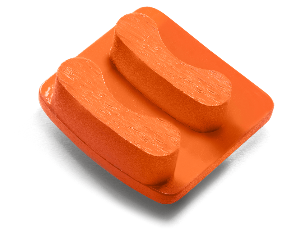 Redi Lock segment, G 1410, Grit 50, Orange