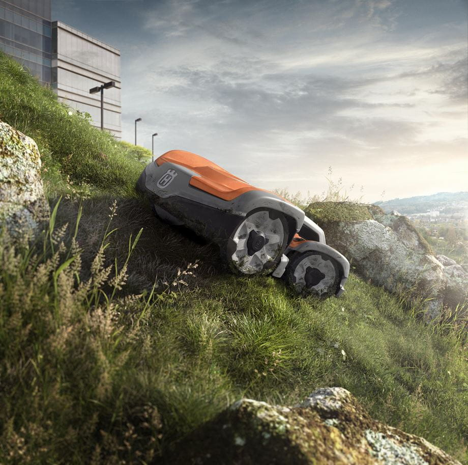 Automower 535 AWD - slope with high grass