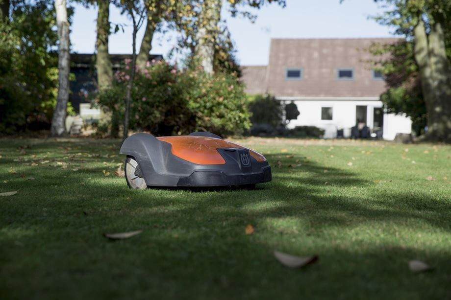 Automower 520 in private garden