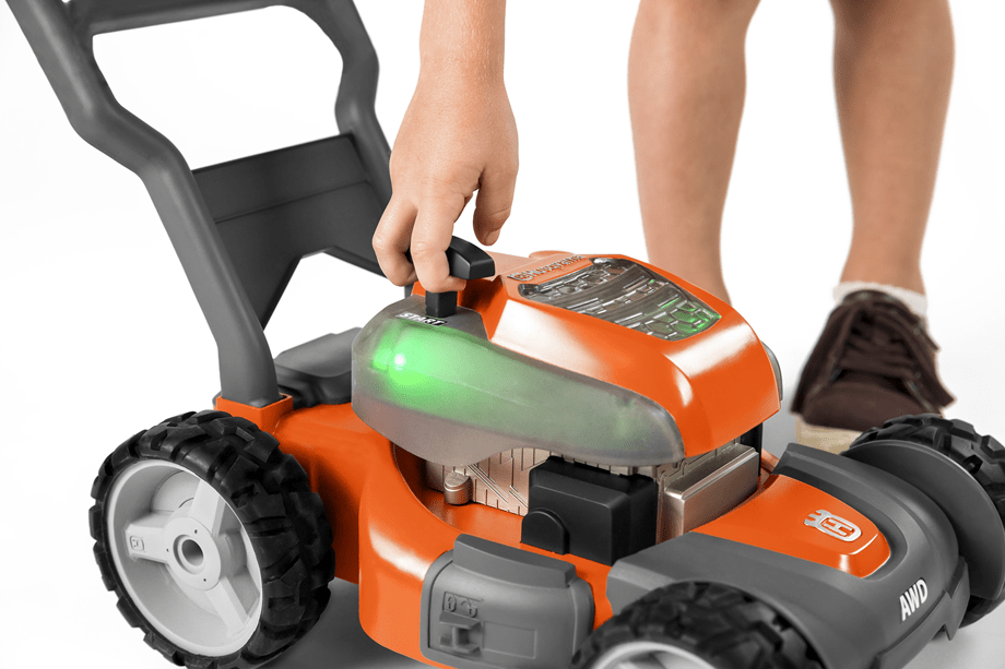 Toy Walk Mower Light and Sound Feature