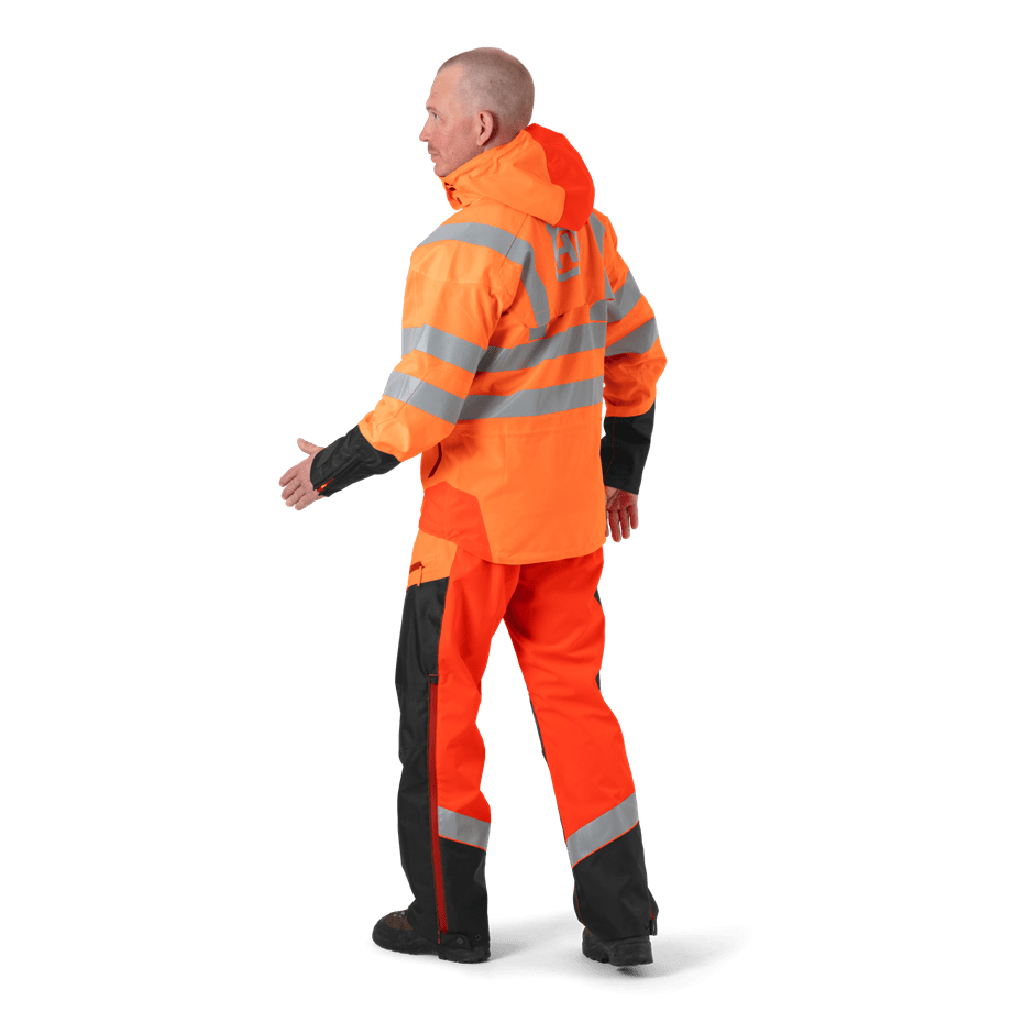 Rain Wear Vent High -Viz, Technical
