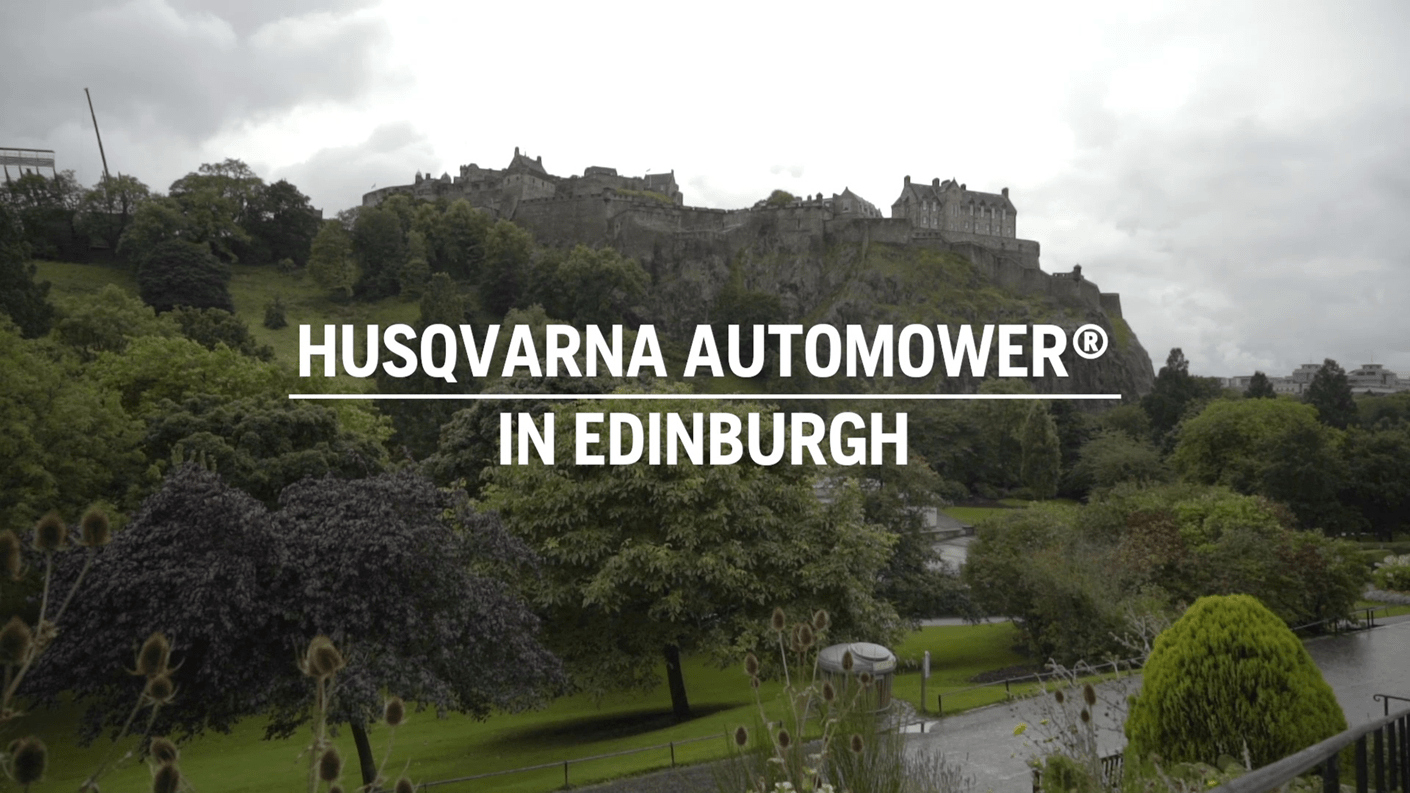 Testimonial Pro Automower - City of Edinburgh, UK