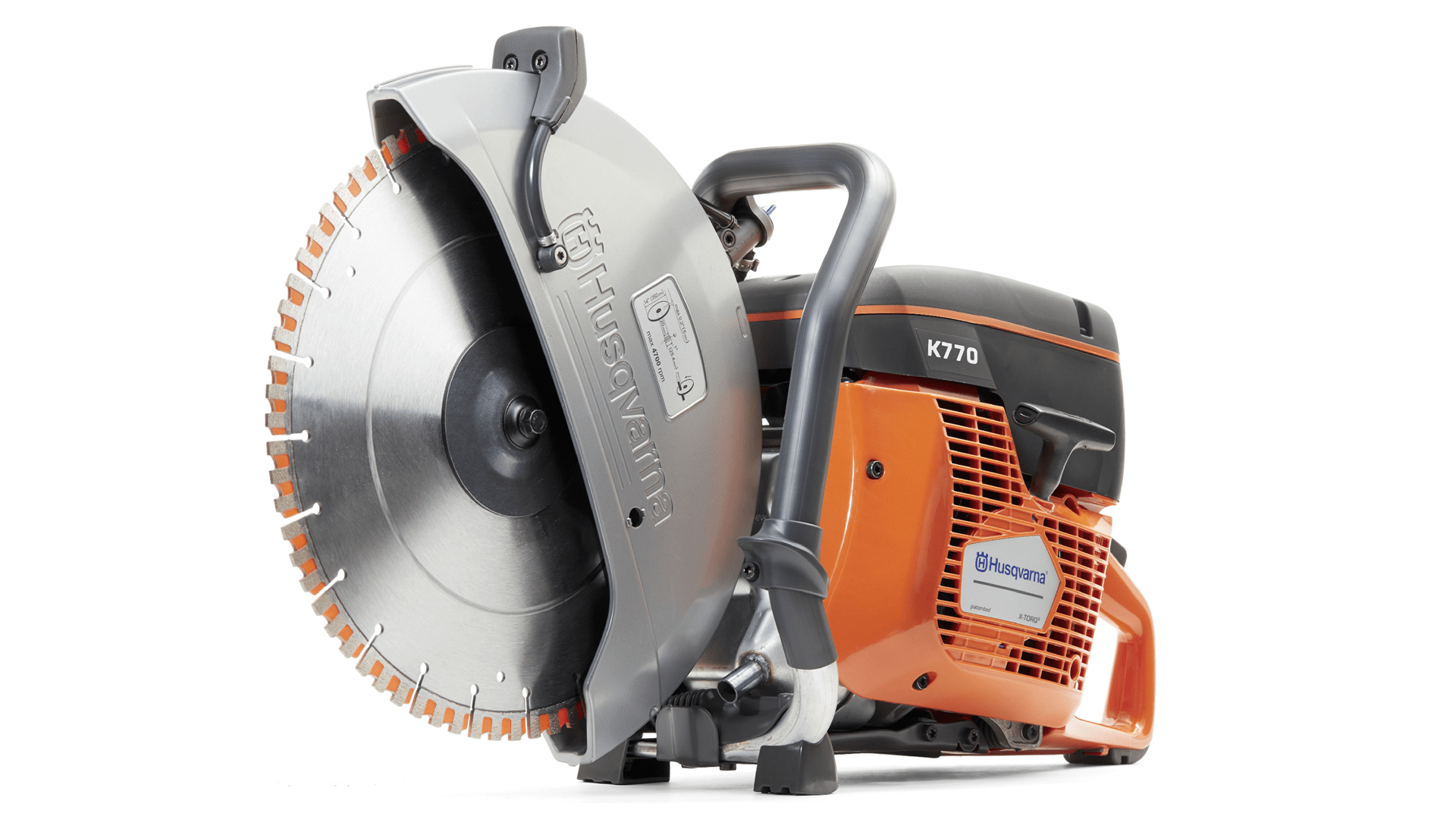 Handheld petrol cut-off concrete saw Husqvarna K 770 power cutter
