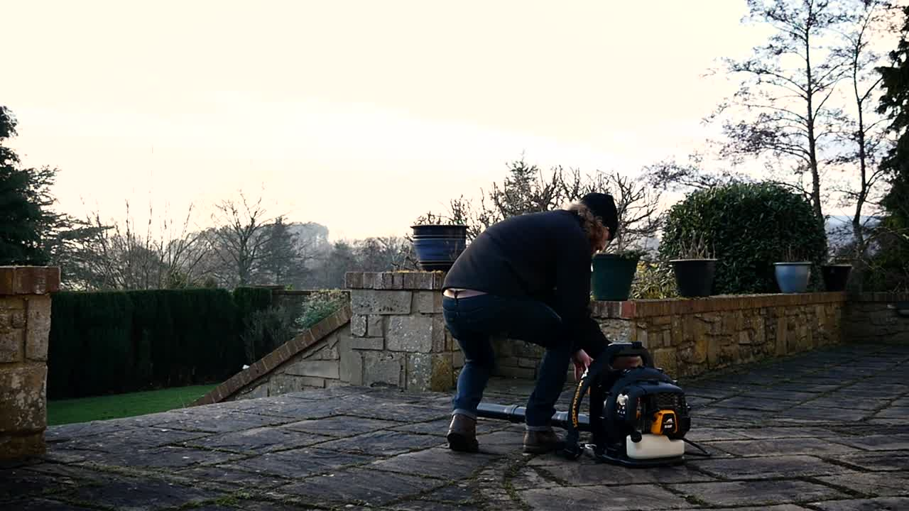 GB 355 Backpack Blower F&B video (EN)