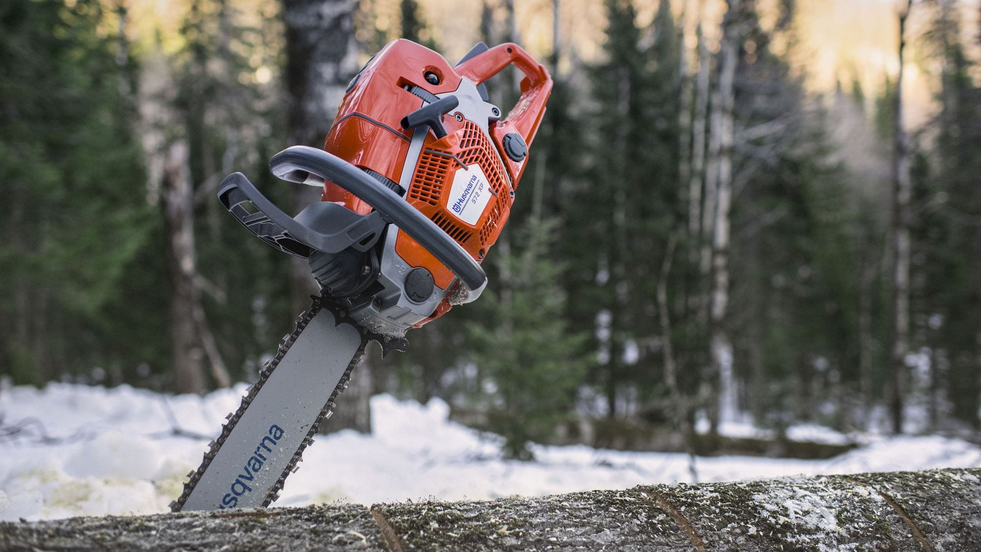 Husqvarna XP® chainsaws mean extra performance