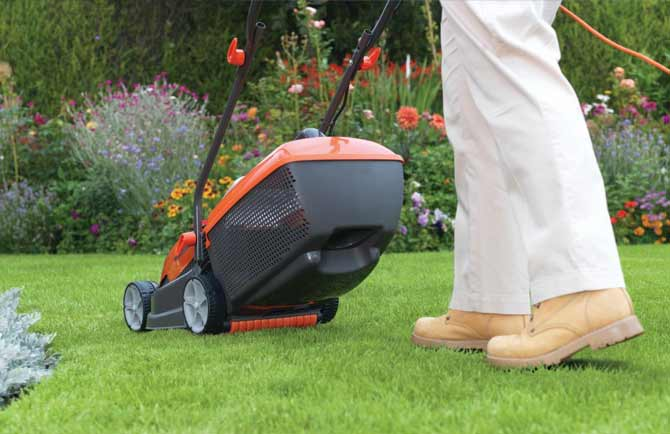 Flymo - Making cutting your lawn easier by design.