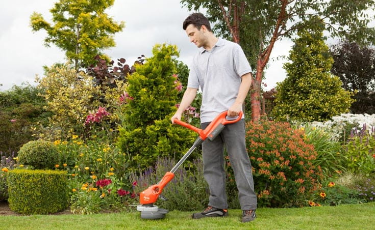 No Cables - cordless grass trimmers