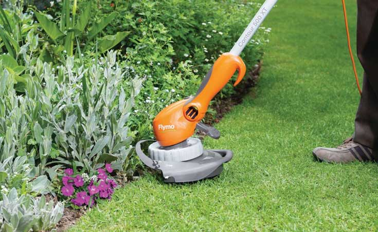 Flymo grass trimmer