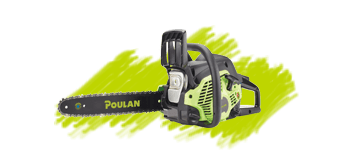 Poulan Green Chainsaw