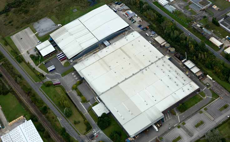 Flymo factory in Newton Aycliffe, County Durham