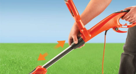 grass trimmer shaft