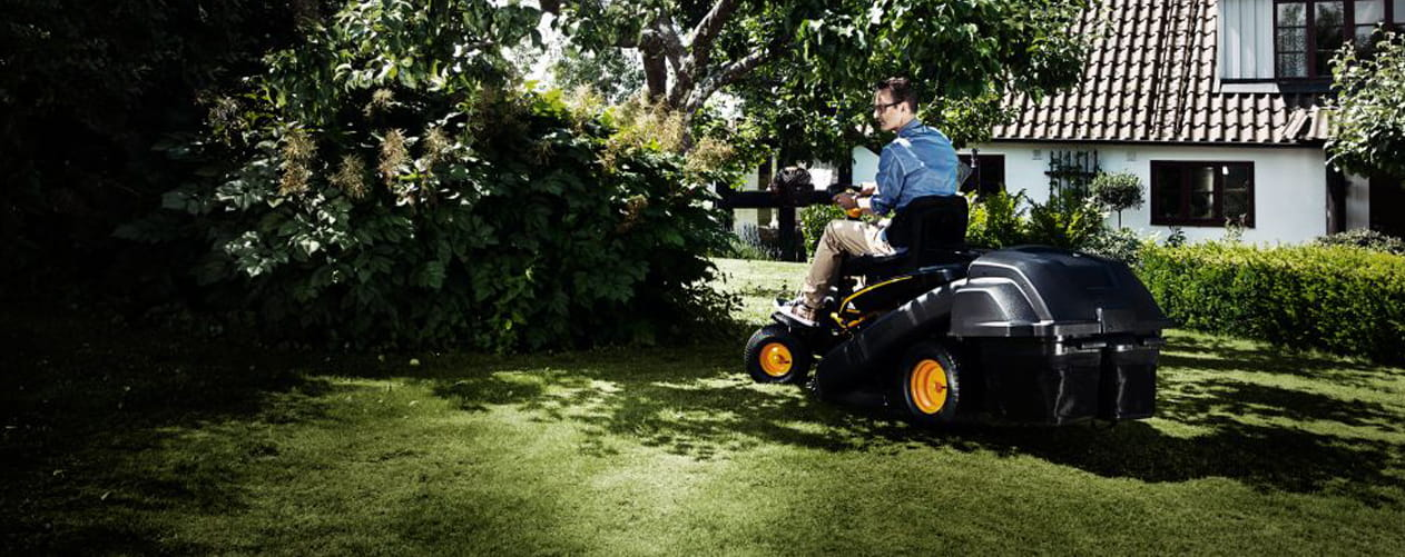 cross mower