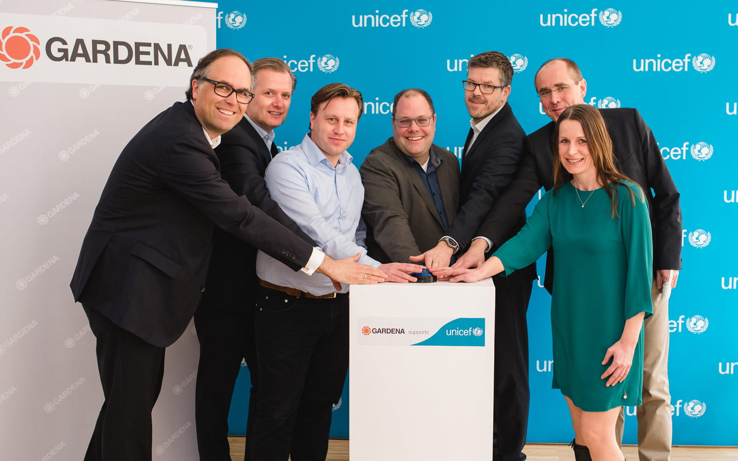 Start of partnership between GARDENA and UNICEF