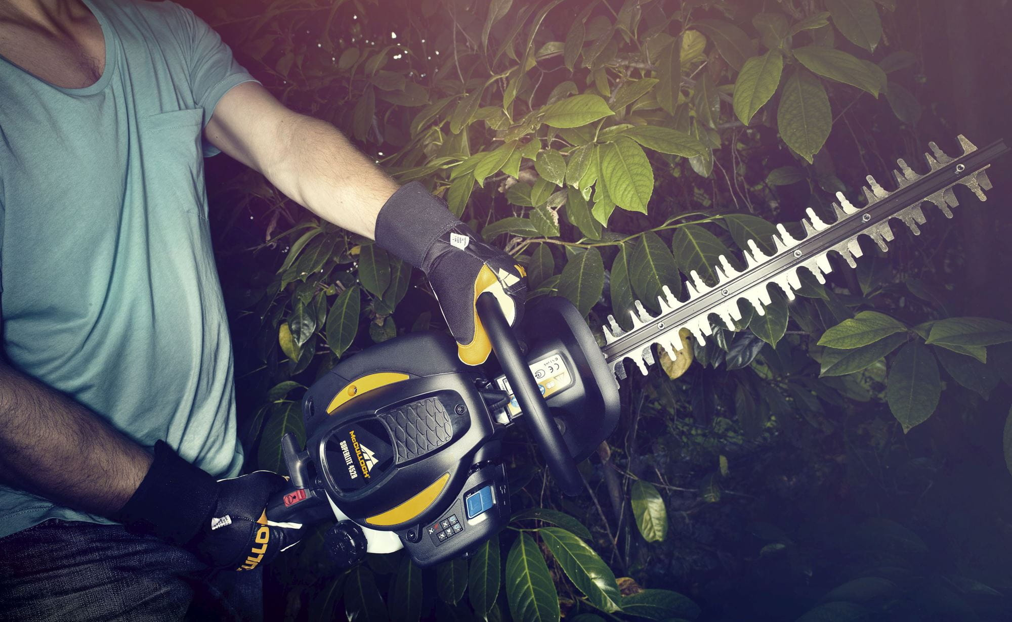 McCulloch hedge trimmers