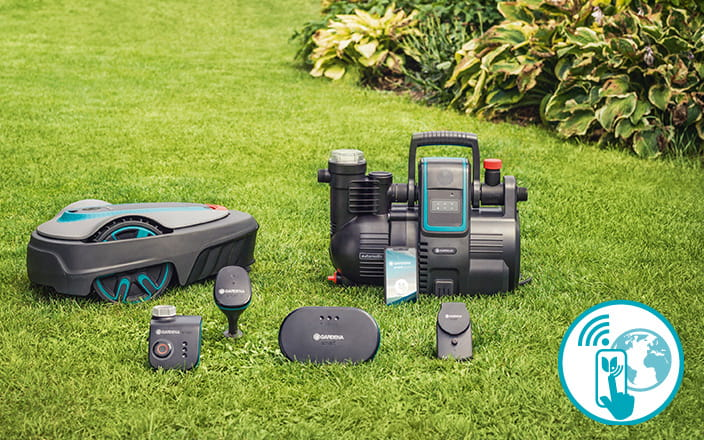 Robotic lawnmower - lawn mower - GARDENA