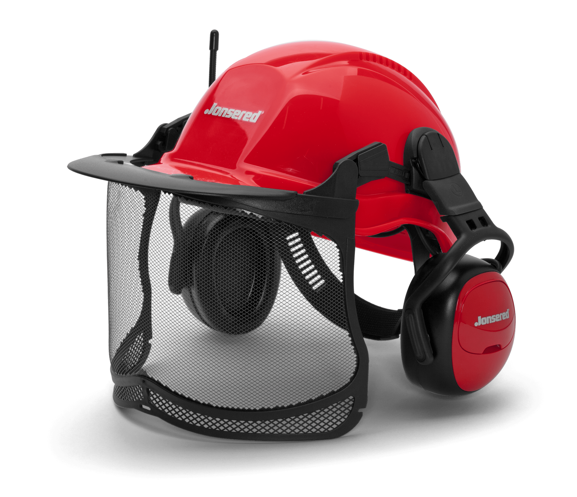 Helmet with FM hearing protection