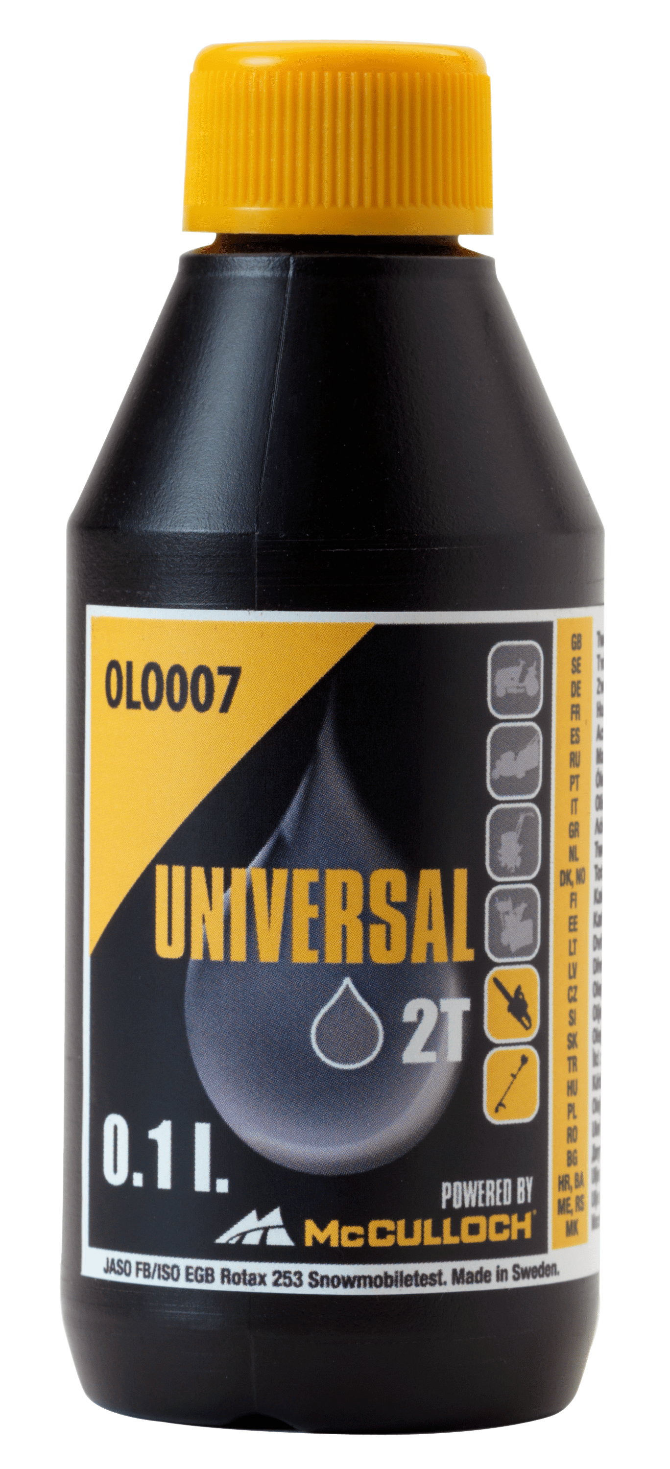 OLO007 0.1l 2 Stroke Oil - mini shot